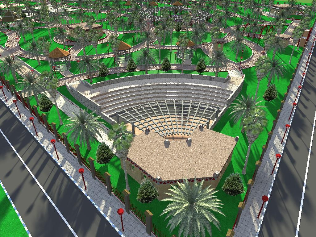 parc citadin tindouf